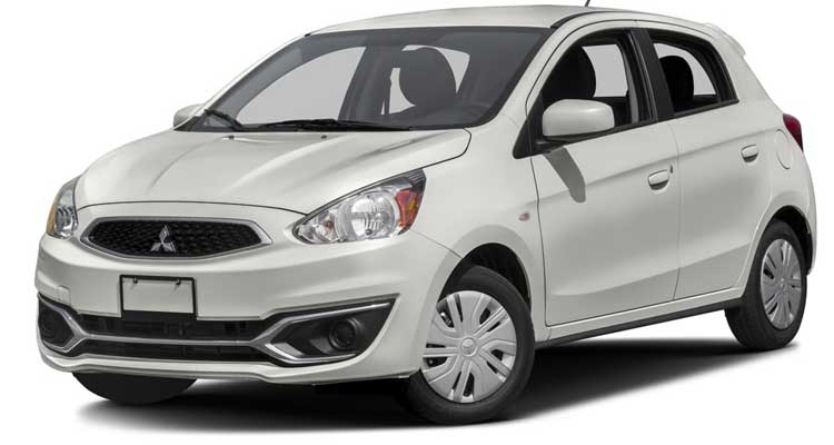 Lowest-Rated Subcompact Car: Mitsubishi Mirage