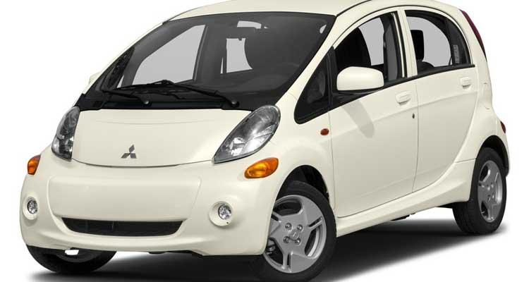 Lowest-Rated Electric Hybrid: Mitsubishi i-MiEV