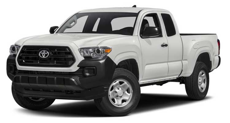 Lowest-Rated Pickup: Toyota Tacoma