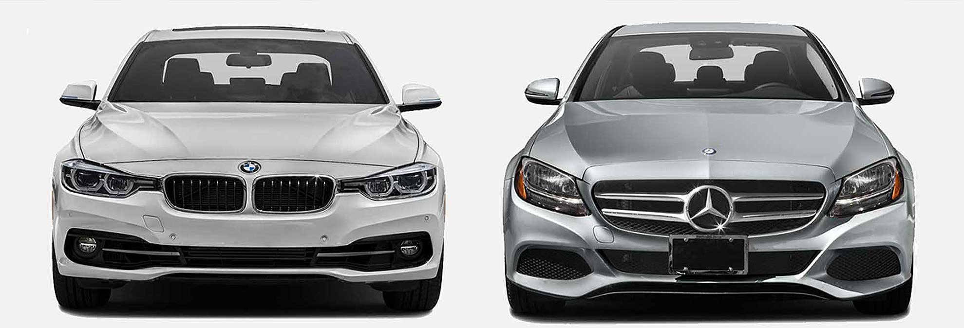 BMW 3 Series Vs Mercedes-Benz C-Class Sports Sedans
