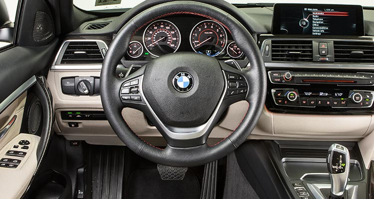 2017 Bmw 330e Plug In Hybrid Sedan Interior