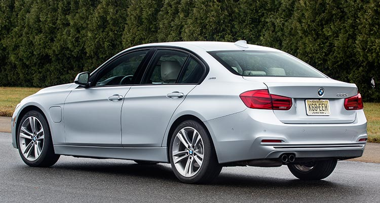 2017 Bmw 330e Plug In Hybrid Sedan Rear