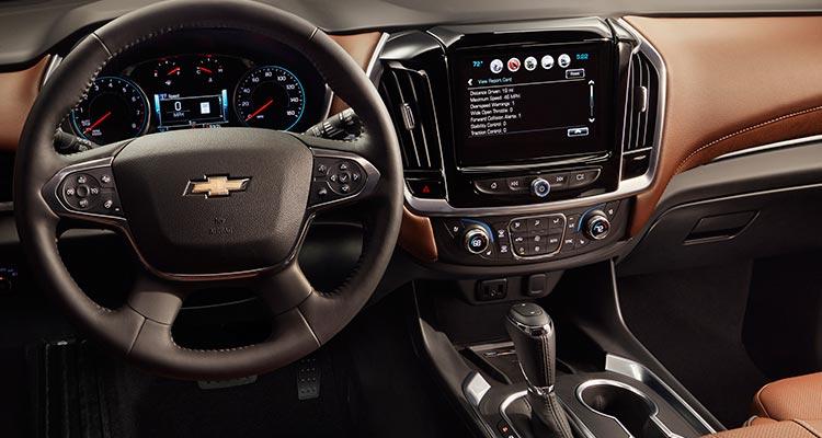 2018 Chevrolet Traverse SUV interior