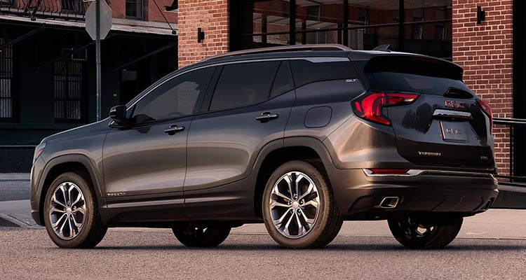 2018 gmc terrain gains refinement consumer reports. Black Bedroom Furniture Sets. Home Design Ideas