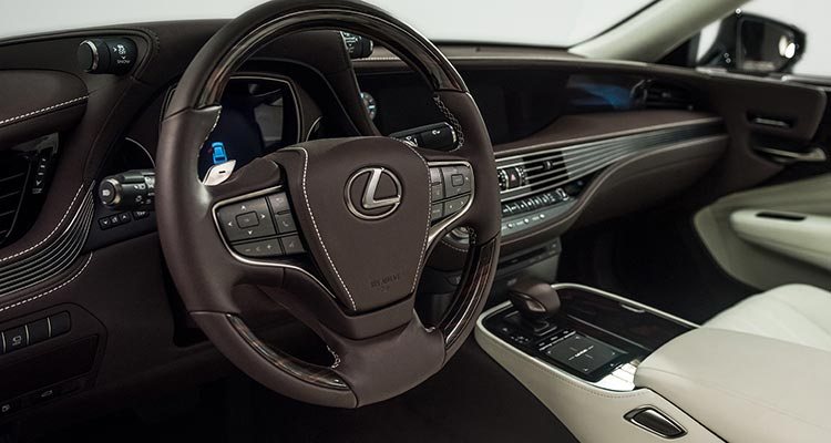 2018 Lexus Ls Luxury Sedan Interior