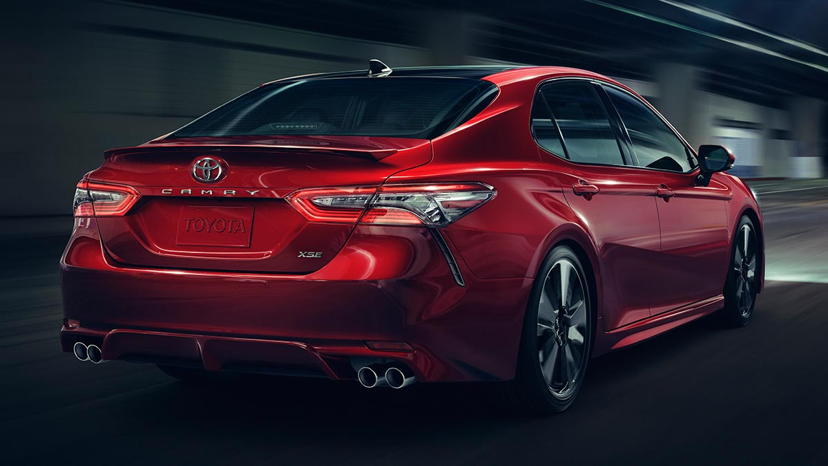 2018 Toyota Camry Rear 0 Shares Ratings Image