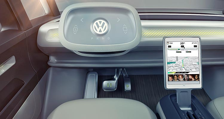 Volkswagen self-driving car technology