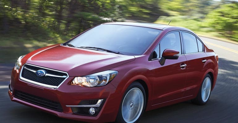 Top Pick: Subaru Impreza