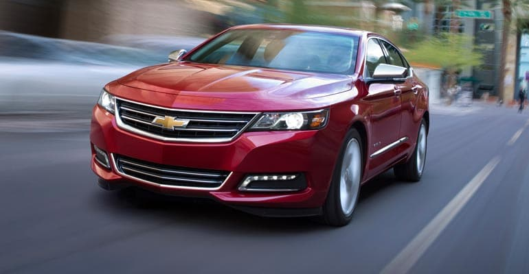 Top Pick: Chevrolet Impala