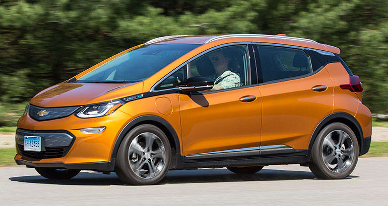 2017 Chevrolet Bolt Driving