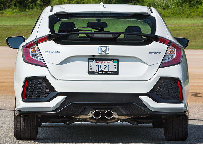 2017 Honda Civic Si Rear Sport