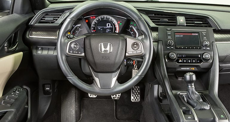 Honda Civic Si Interior Sport