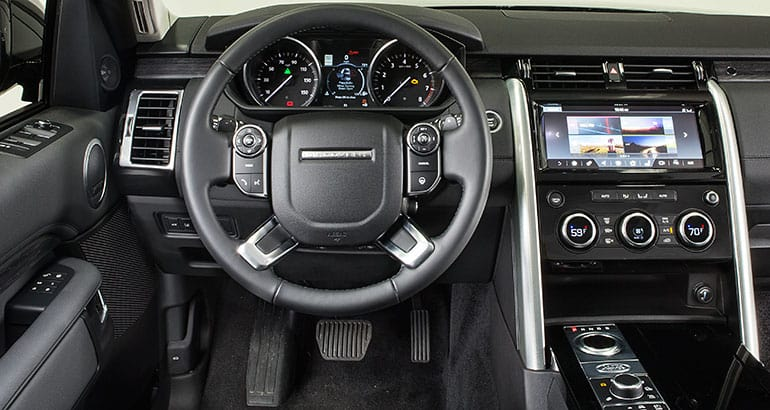 Captivating 2017 Land Rover Discovery Interior.