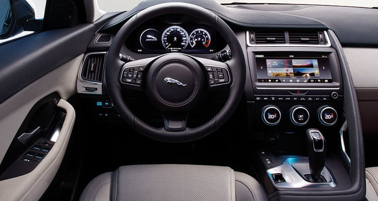 Awesome 2018 Jaguar E Pace SUV Interior Ideas