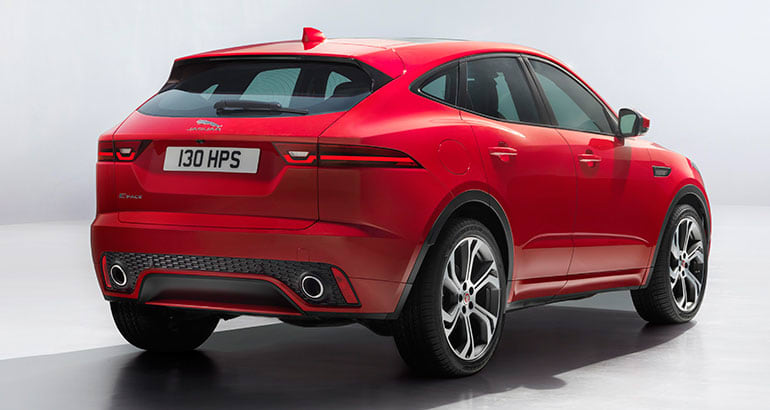 2018 Jaguar E Pace Suv Rear