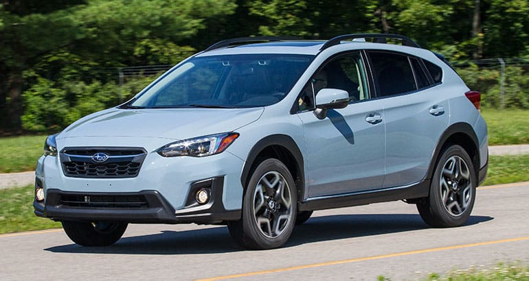 2018 Subaru Crosstrek driving