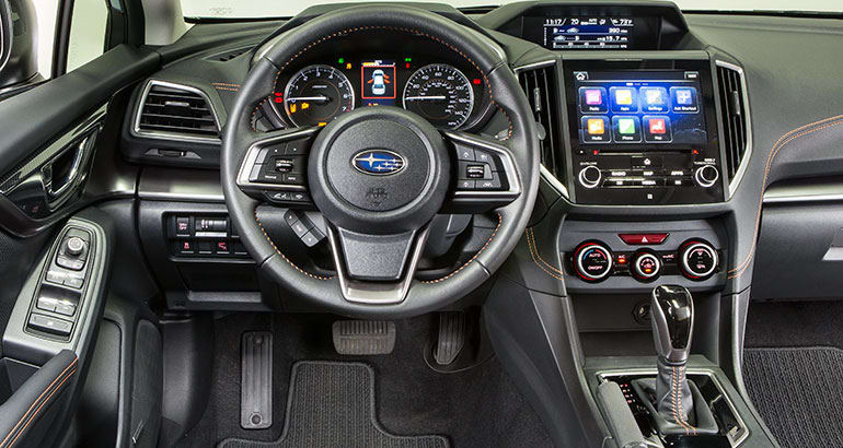 2018 subaru.  2018 2018 subaru crosstrek interior throughout subaru