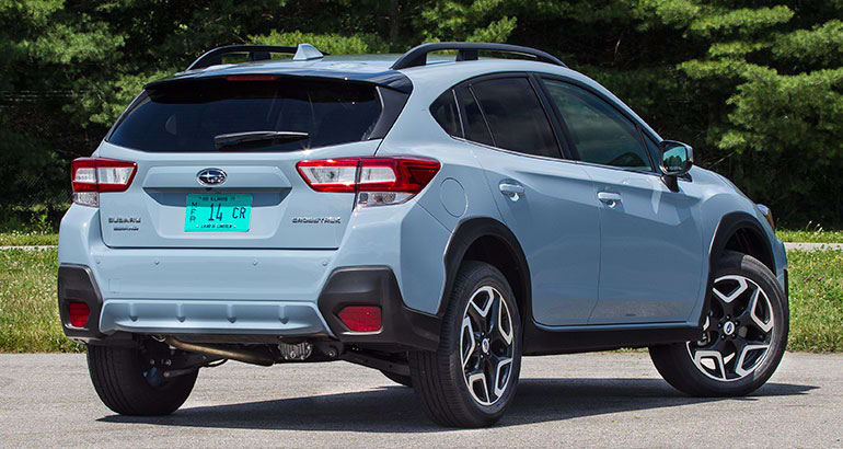 2018 subaru ground clearance. delighful 2018 2018 subaru crosstrek rear inside subaru ground clearance e