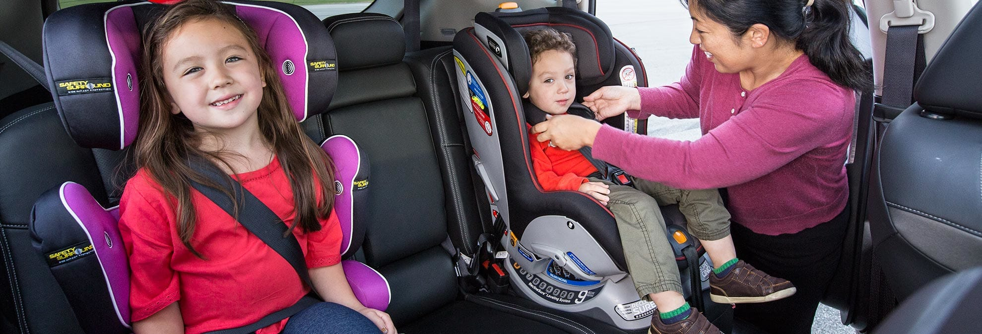 Infant Car Seat Insert Aolvo Convertible Baby Child Safety Booster Pad Cushion Portable Seats For Kids Support