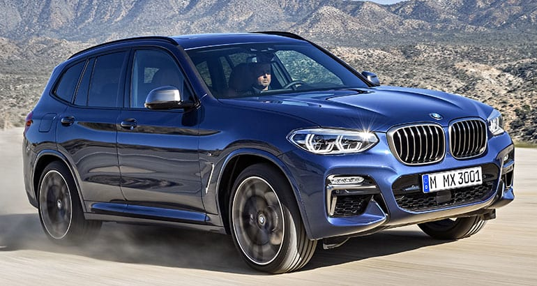 2018 bmw x3 gets significant power and tech boosts consumer reports. Black Bedroom Furniture Sets. Home Design Ideas