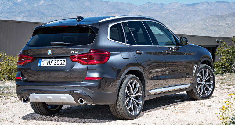 2018 bmw x3. beautiful 2018 2018 bmw x3 rear to bmw x3