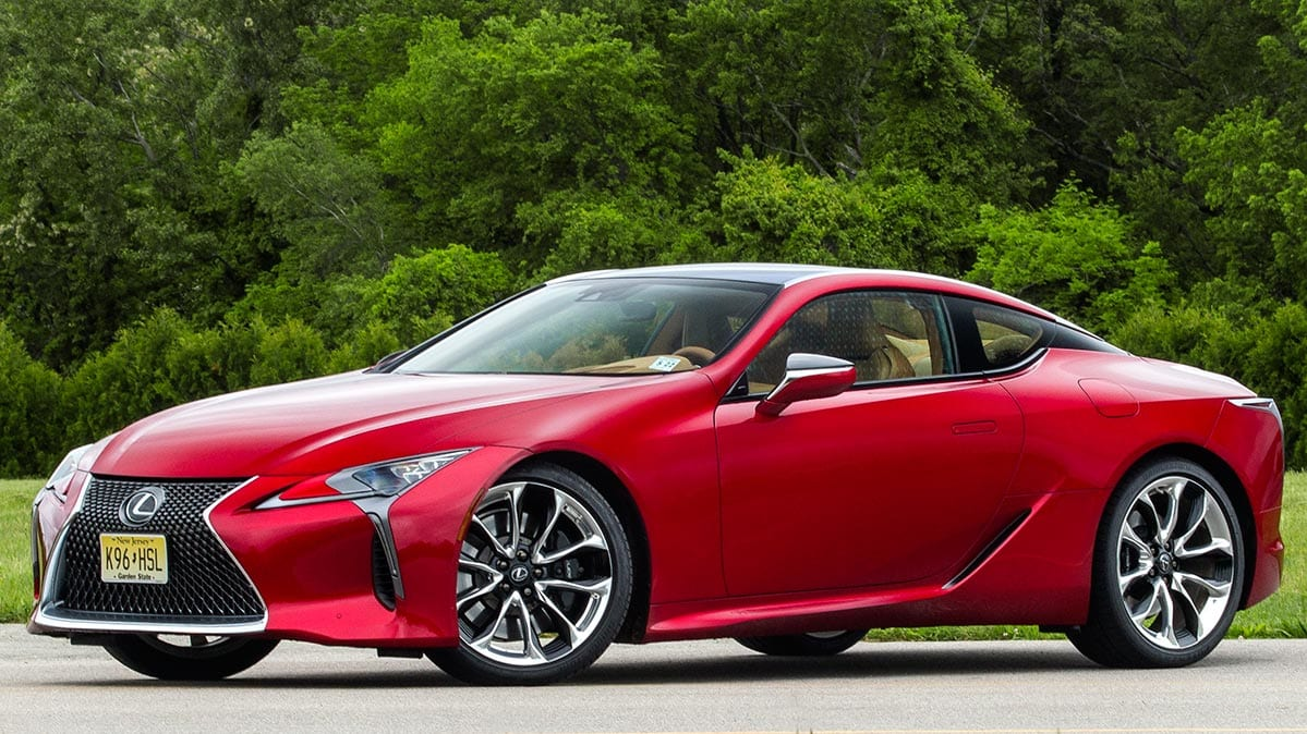 first drive lexus lc500 sport coupe consumer reports. Black Bedroom Furniture Sets. Home Design Ideas