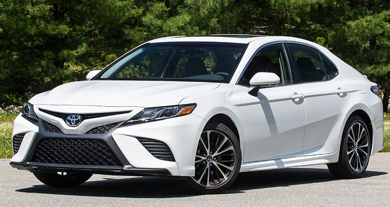 Redesigned 2018 Toyota Camry Adds Flavor, Inside and Out ...