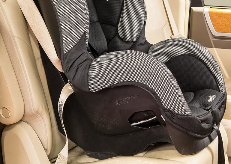 A Loose car seat is one of the common Car-Seat Installation Mistakes
