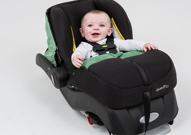 Do: Use approved covers and cushions from car seat's manufacturer