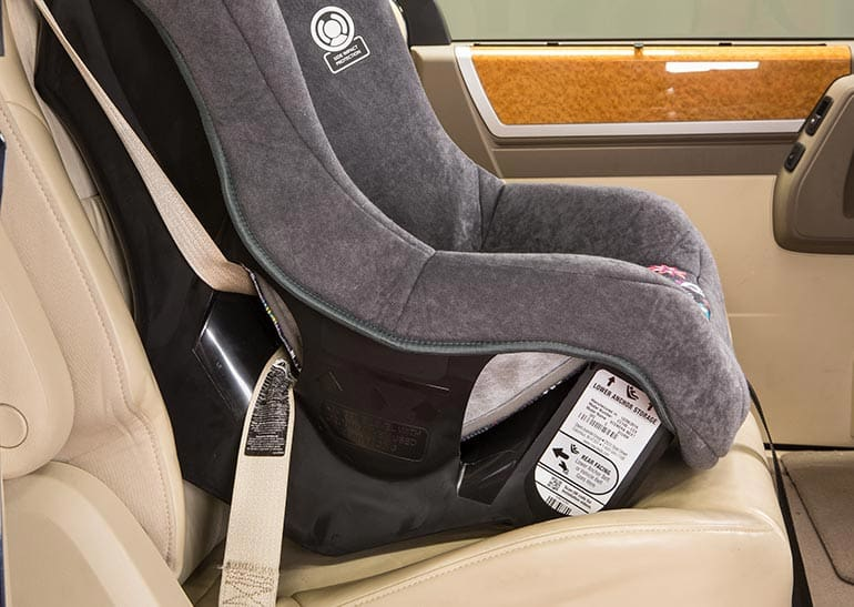 Do: Secure car-seat installation