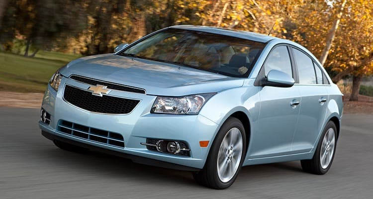 2012 Chevrolet Cruze Good used car for teens