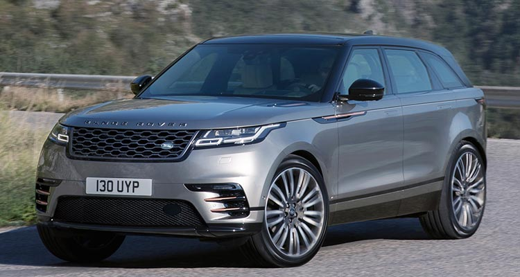 2018 Land Rover Velar SUV front