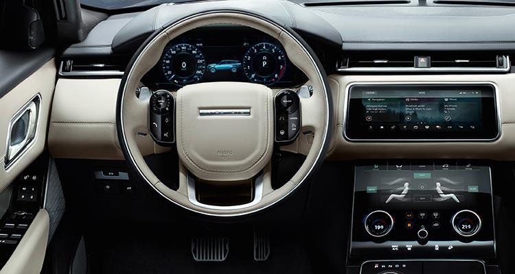 2018 Land Rover Velar SUV interior