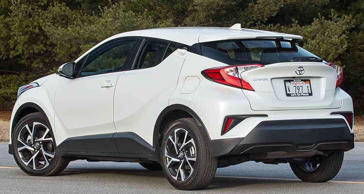 2018 toyota new suv. contemporary 2018 2018 toyota chr rear on toyota new suv consumer reports