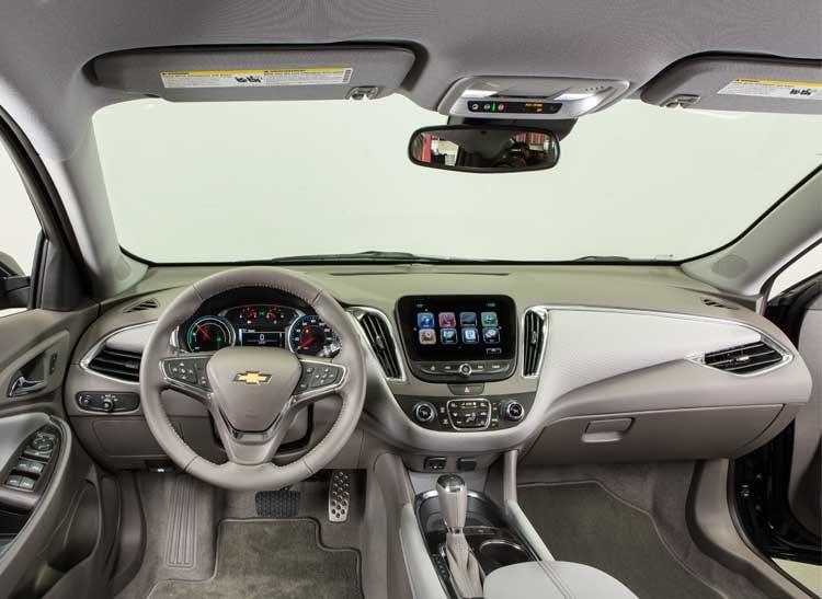 2017 Chevrolet Malibu Hybrid Interior