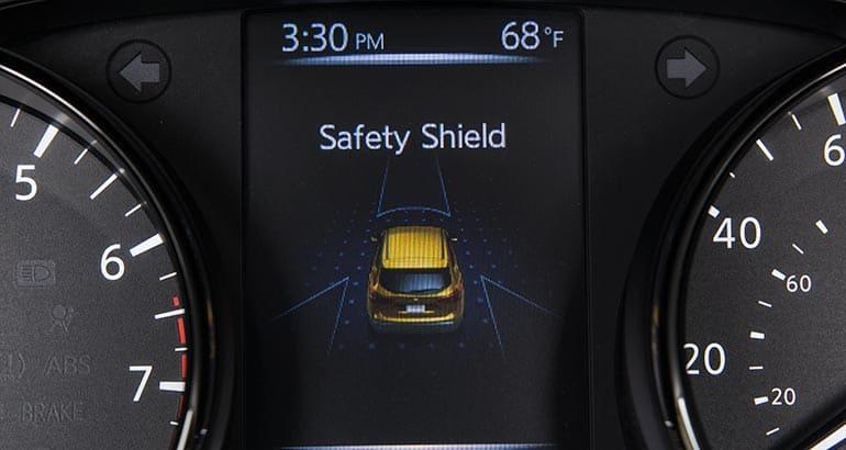2017 Nissan Rogue Sport Safety Shield