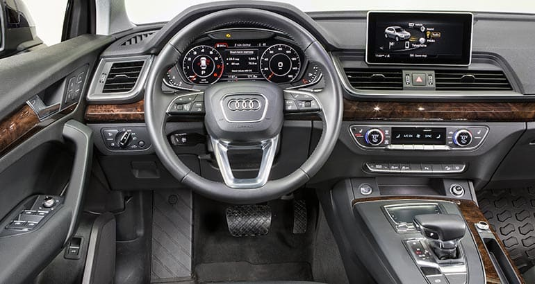 2018 audi q5 is more distinctive than it looks consumer reports. Black Bedroom Furniture Sets. Home Design Ideas