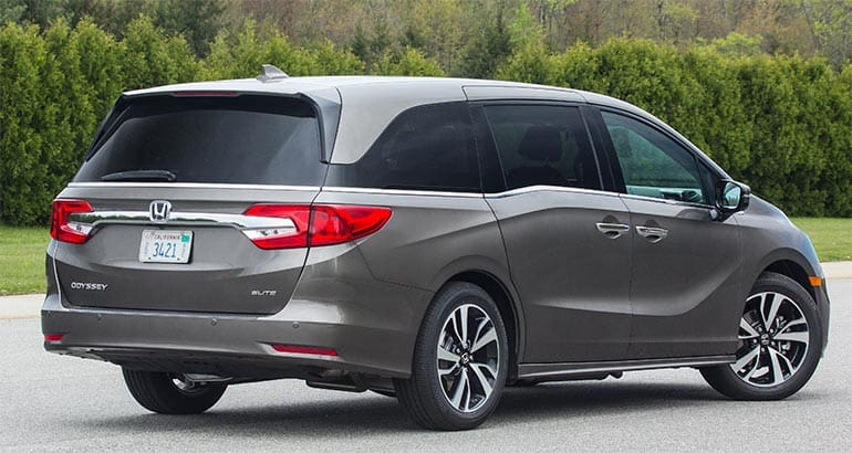 2018 honda usa.  honda 2018 honda odyssey rear with honda usa