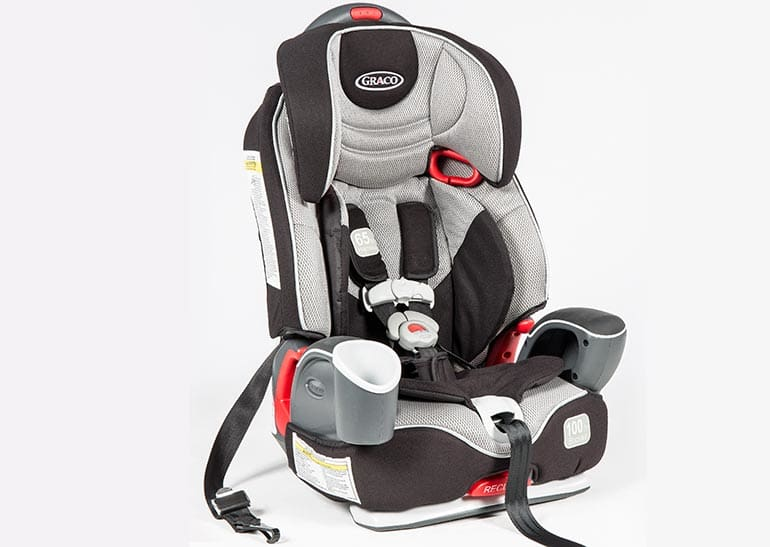 Toddler Booster: Graco Nautilus 3-in-1 $140