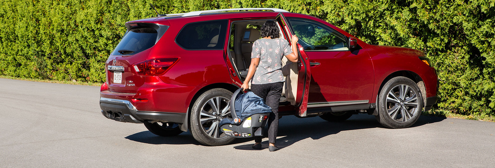 Nissan rear door alert aims to prevent child deaths in hot cars
