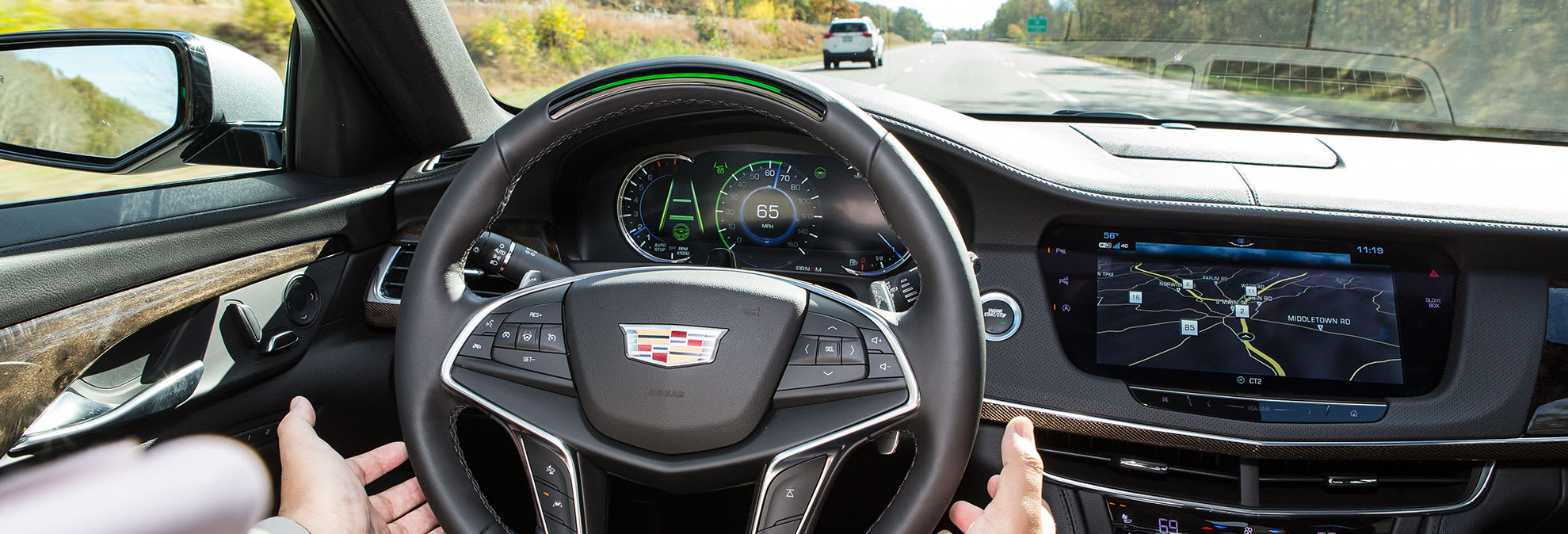 Cadillac super cruise may lead to safe hands free driving