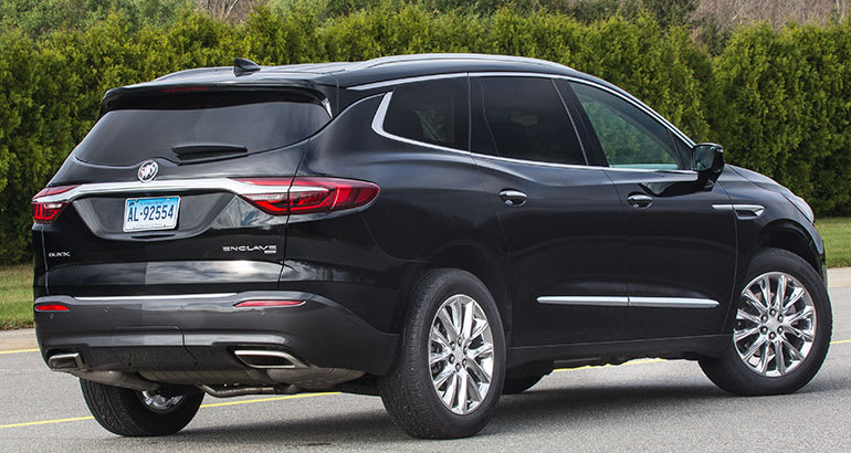 Redesigned 2018 Buick Enclave Doesn T Separate Itself From