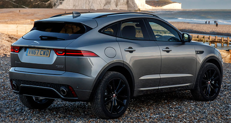 2018 Jaguar E Pace Rear