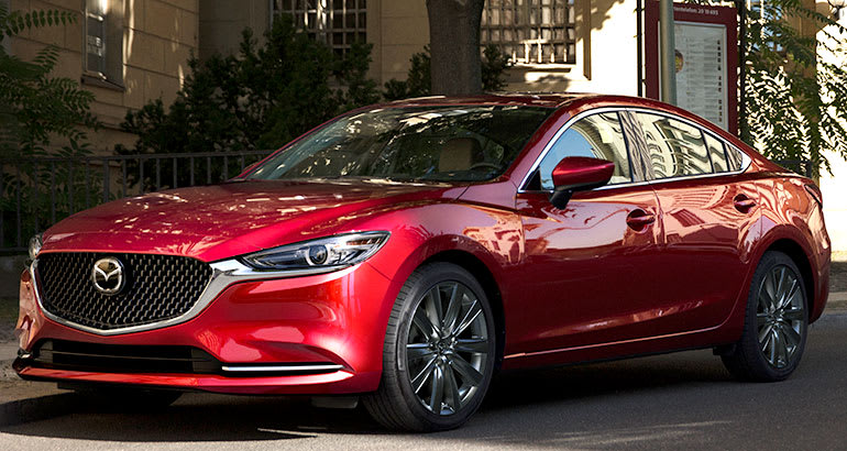 redesigned 2018 mazda 6 aims for upward mobility consumer reports. Black Bedroom Furniture Sets. Home Design Ideas