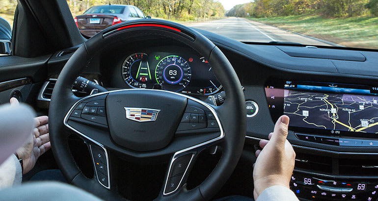 Cadillac Super Cruise May Lead to Safe Hands-Free Driving