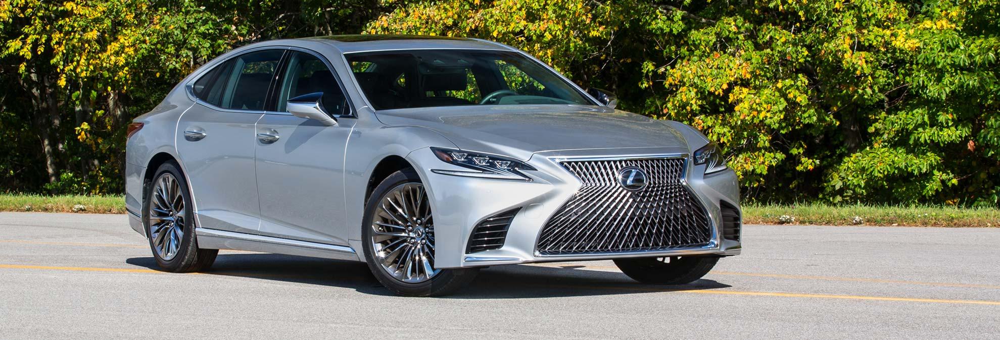 lexus and luxury car