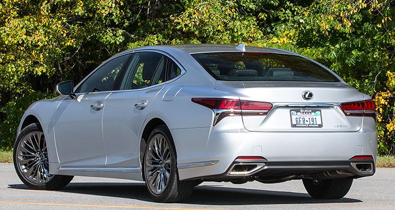 2018 lexus 500 ls. fine lexus 2018 lexus ls 500 rear exterior inside lexus ls