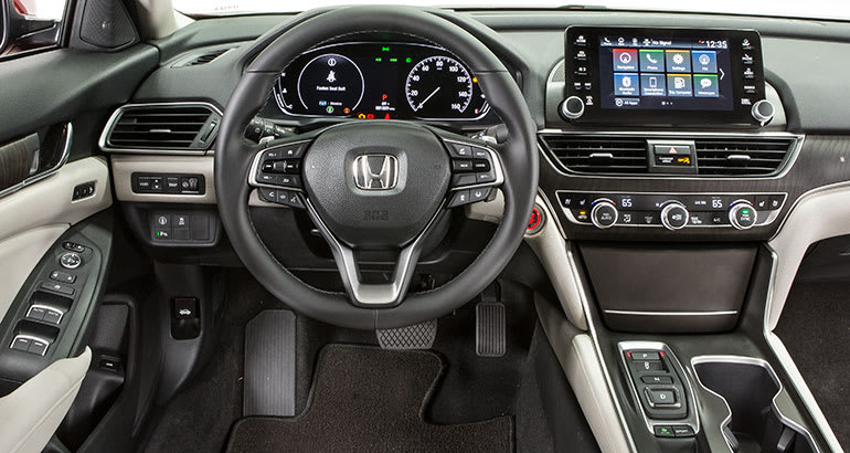 2018 Honda Accord Goes High Tech Consumer Reports