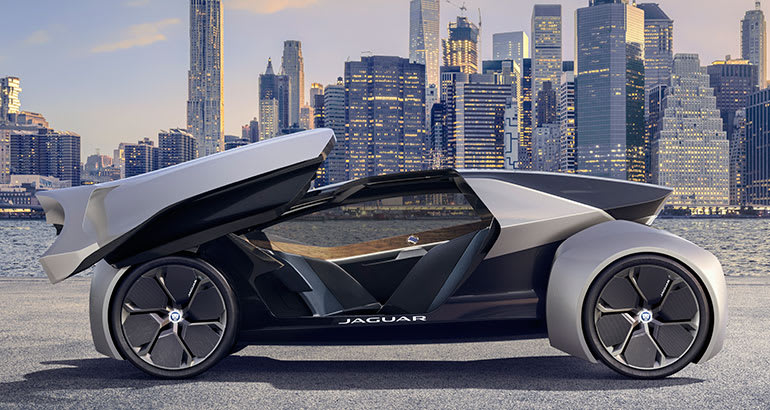This Jaguar Future-Type concept car could be part of Jaguar Land Rovers plan to electrify