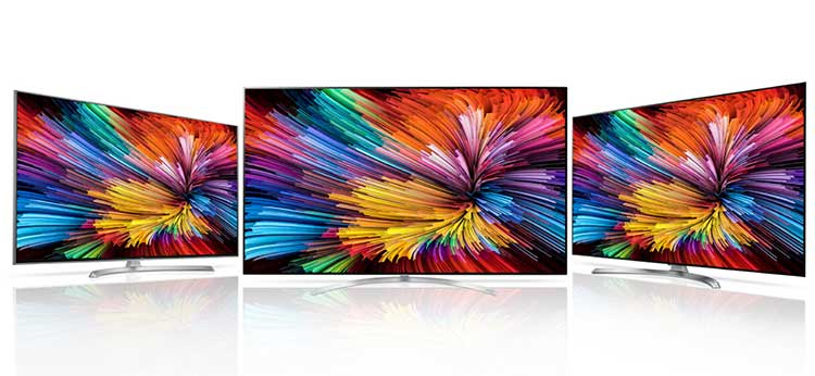 Photo of LG Nano Cell Super UHD TVs.